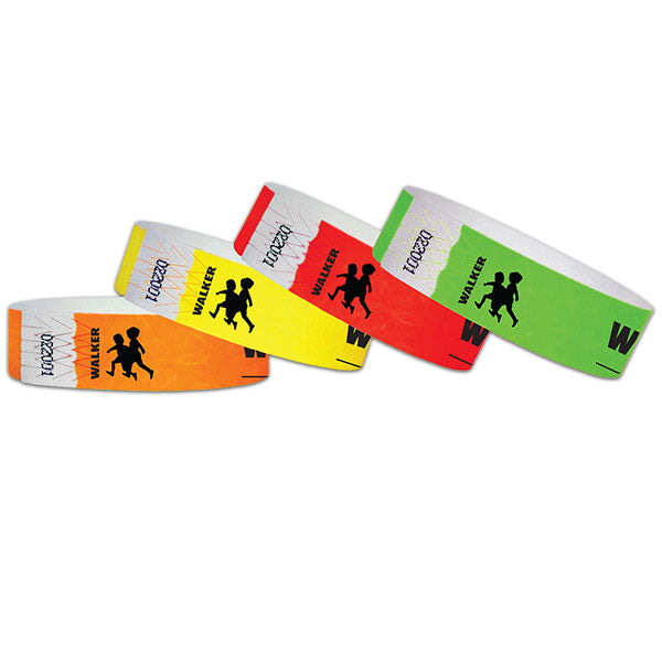 "3/4""  Tyvek Walker Wristbands"