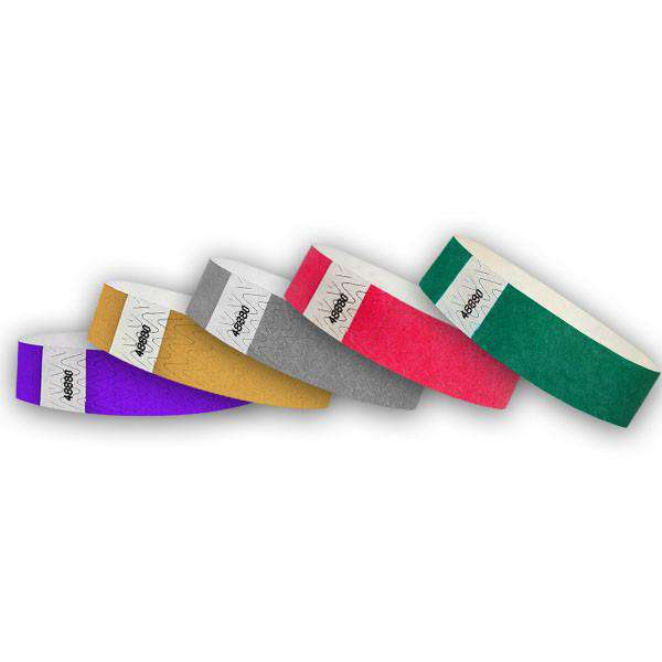 "3/4""  Wristband Multi Value Pack 2"