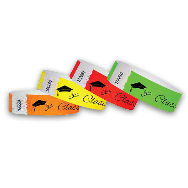 3/4 Graduation Class Of 2019 Wristbands