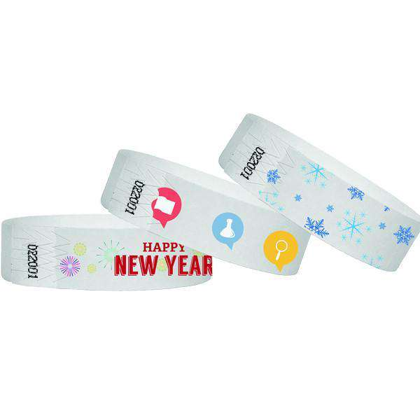"1"" Custom Full Color Wristbands"