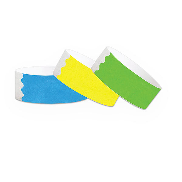 "1""  Factory Seconds Tyvek Wristbands"