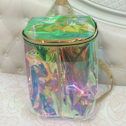 Clear Holographic Backpack
