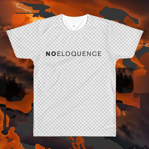 Limited Edition Noeloquence allover crewshirt