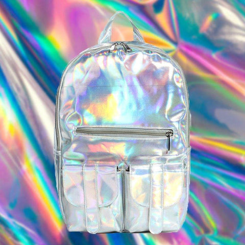Holographic Rainbow Backpack - Fishingispassion