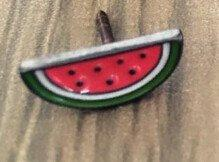 Fruit Metal Pin / Set - Fishingispassion