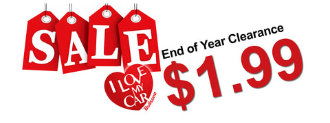End of Year Clearance $1.99 Sales Items