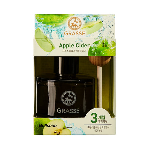 Bullsone Grasse Diffuser - Apple Cider 105ml (3.55oz/Korean PKG)