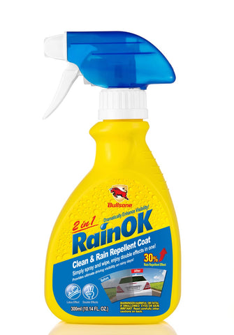 Bullsone RainOK Clean & Rain Repellent 2 In 1 300ml
