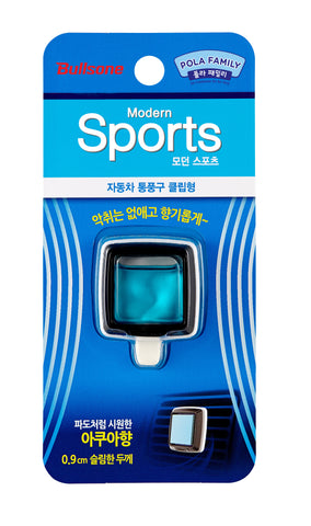 POLA FAMILY MODERN SPORTS VENT CLIP AQUA_3.5㎖(0.12oz)