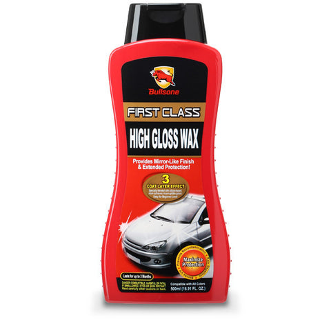 Bullsone Firstclass High Gloss Wax 500ml