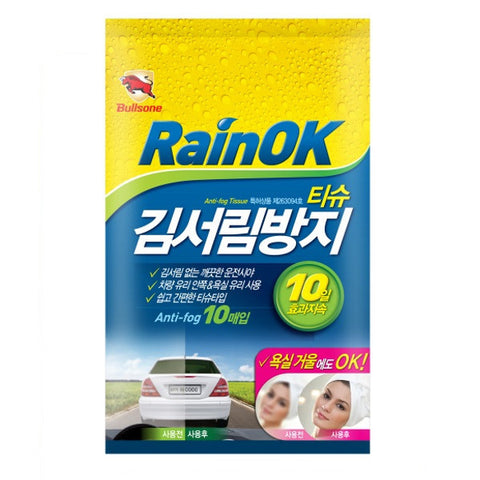 Bullsone RainOK Anti Fog Tissue