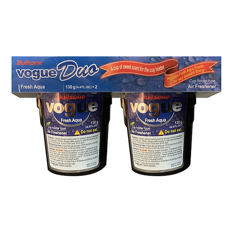 Bullsone Vogue Duo (Eng-Esp) - Fresh Aqua 130g x 2pcs set