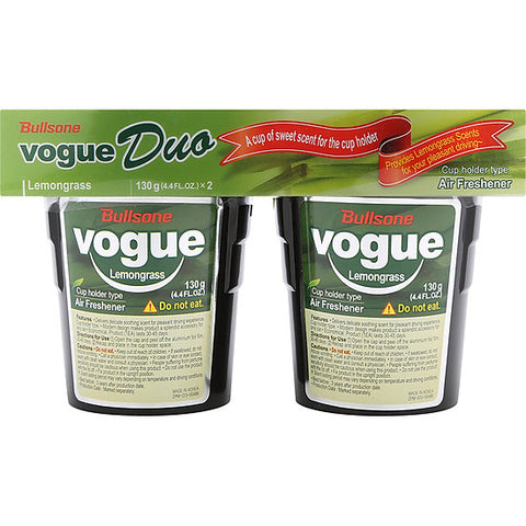 Bullsone Vogue Duo - Lemongrass 130g x 2pcs set (Eng-Esp)
