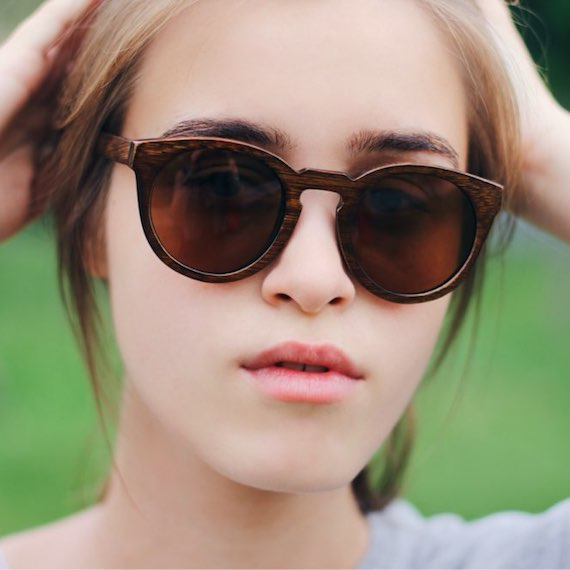 Retro Vintage Wooden Sunglasses
