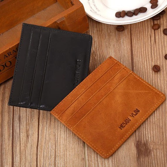Vintage Men Card Holder