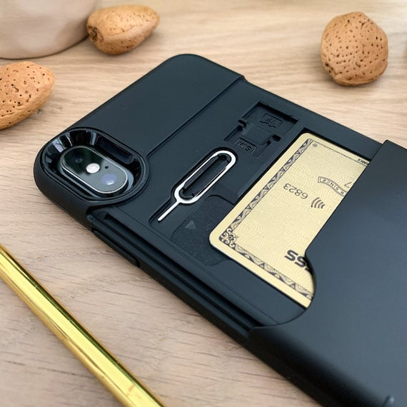 iPhone Xs Case with Credit Card Slot