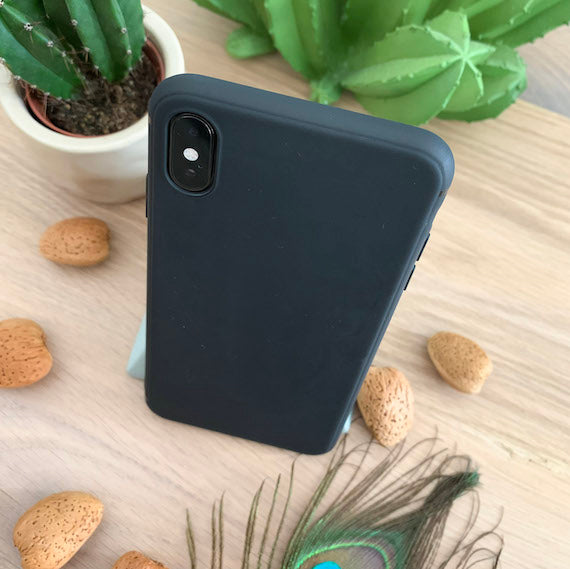 Ultra Thin Transparent Back Cover for iPhone Xs