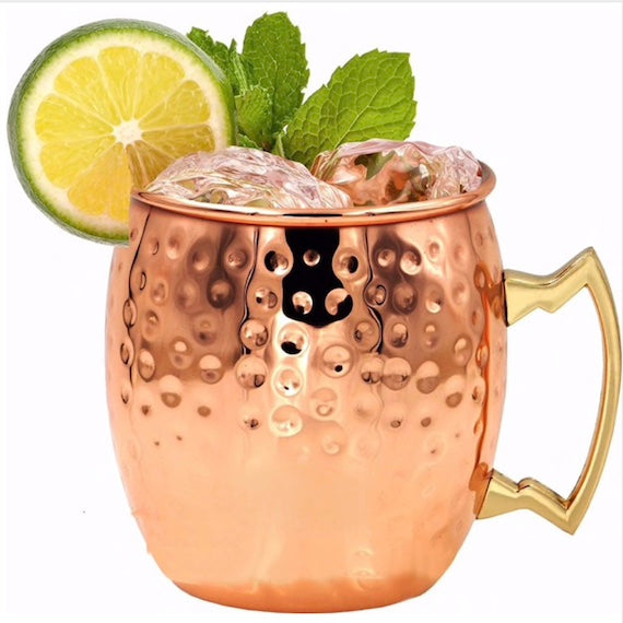 Copper Plated Moscow Mule Mug Set