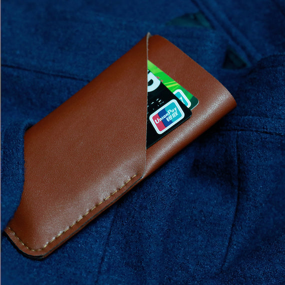 iPhone 8 Microfiber Wallet Case
