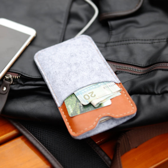 iPhone 8 Dirt-Resistant Wallet Case