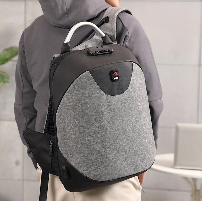 Anti-Theft Password-Protected Backpack
