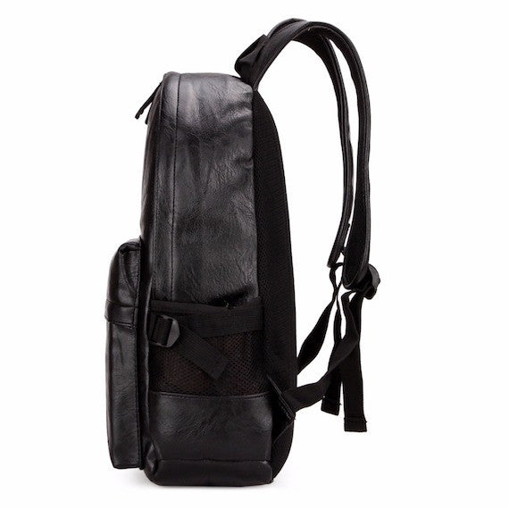 Large Sized Leather Backpack