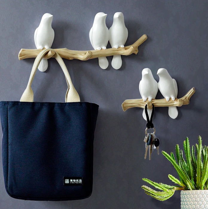 Bird on a Branch Adorable Storage Hanger