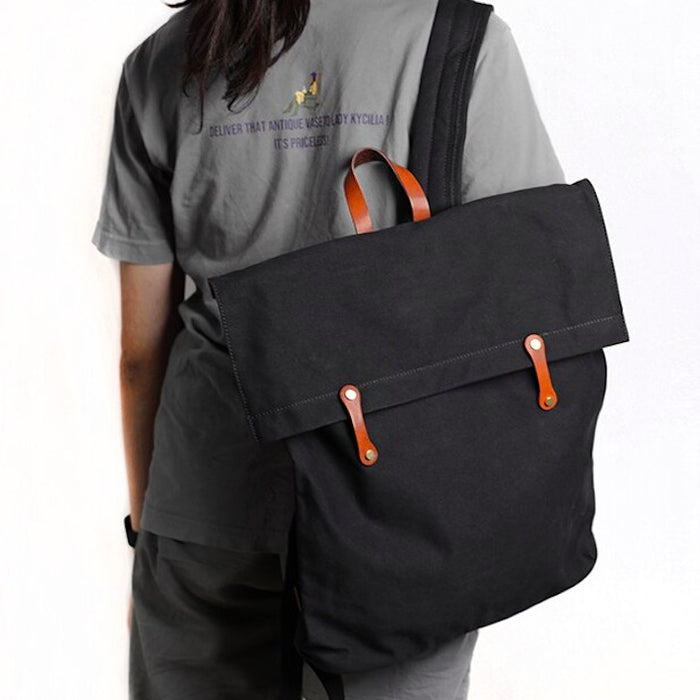 Casual Everyday Canvas Backpack