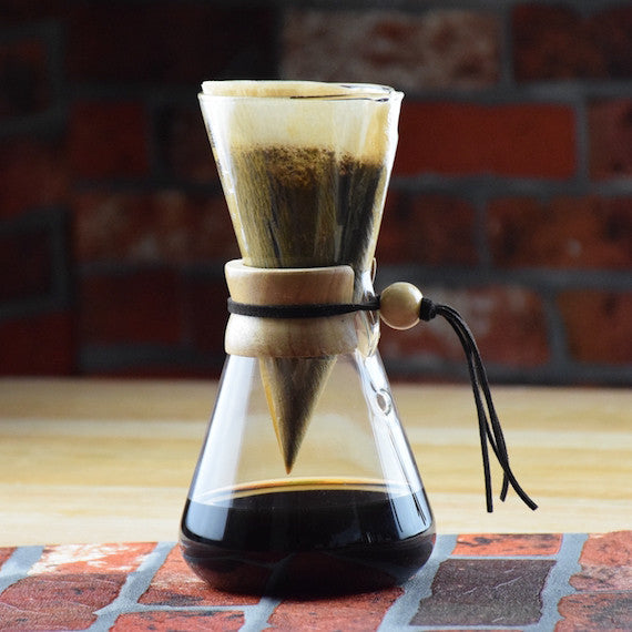 Chemex Style Glass Coffee Brewer