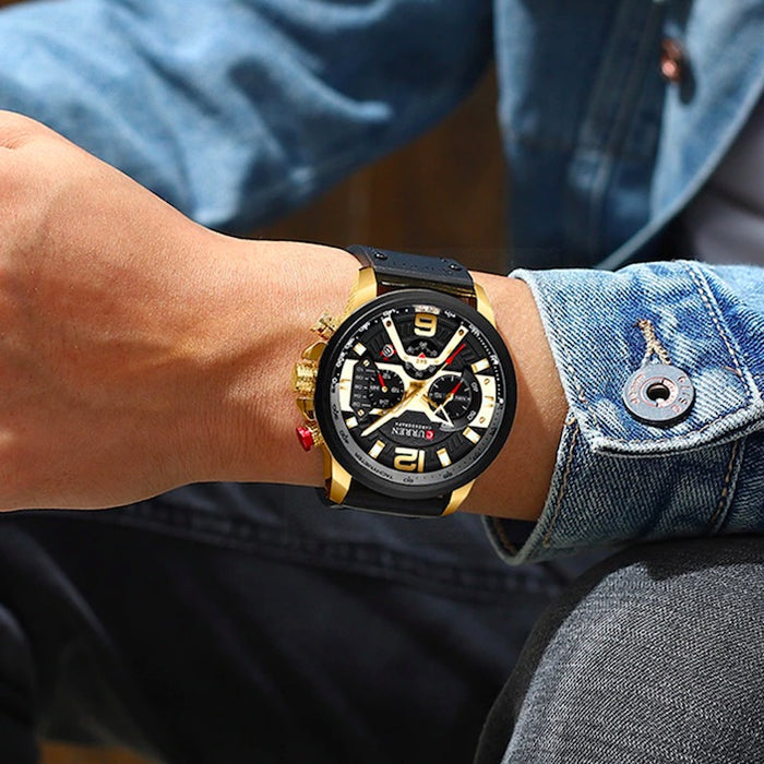 Curren Casual Chronograph Sports Watch