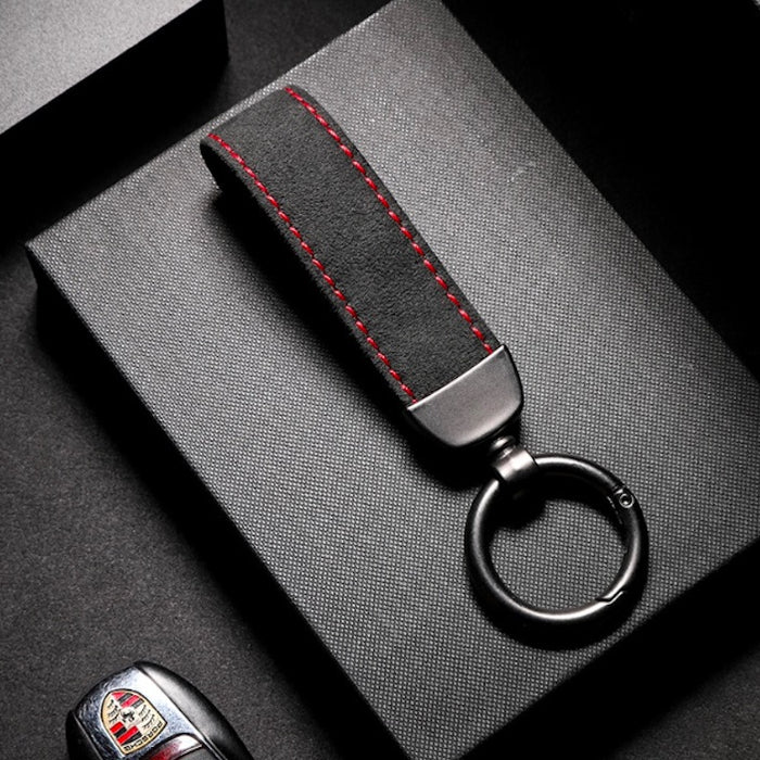 Durable Leather Strap Key Chain