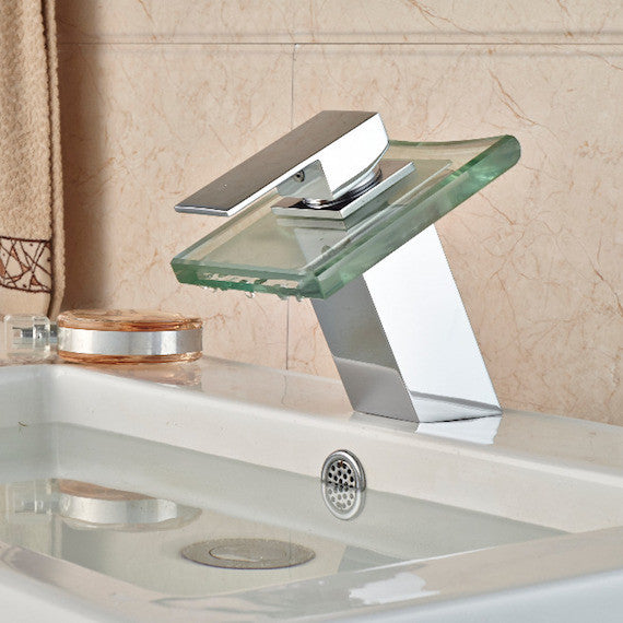 LED Color Changing Basin Faucet