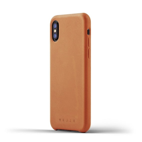 iPhone X Full Leather Case by Mujjo