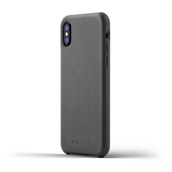 iPhone Xs Full Leather Case by Mujjo