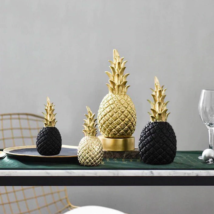 Golden Pineapple Display Prop