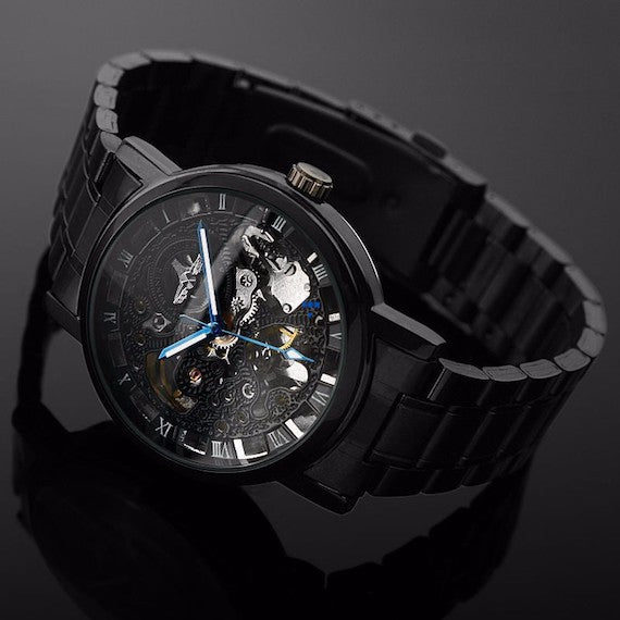Modern Steampunk Mechanical Watch