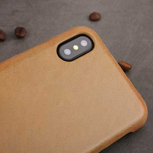 Genuine Leather iPhone X Cover