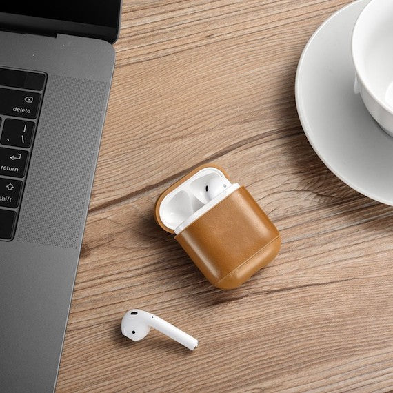 Leather Apple Airpods Case