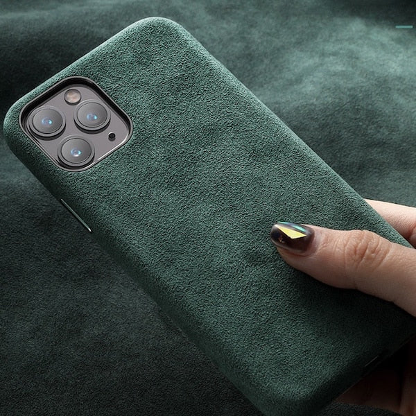Italian Alcantara Soft Suede iPhone 11 - 11 Pro and 11 Pro Max Case