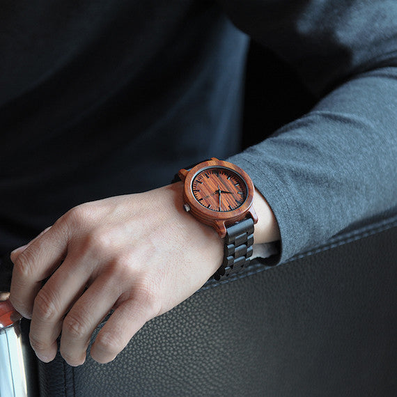 Luxury Unisex Wooden Wristwatches