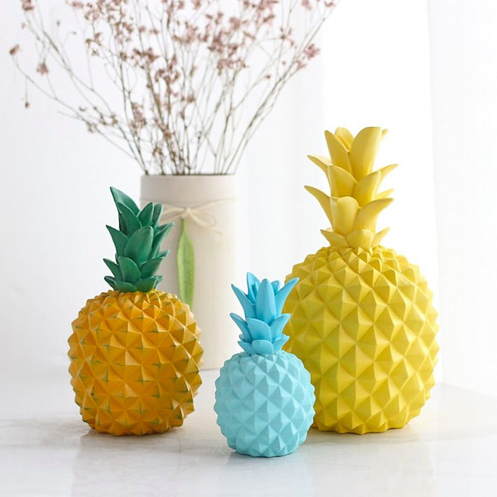 Modern Pastel Pineapple Ornament