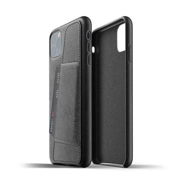 Mujjo Full Leather Wallet Case for iPhone 11, iPhone 11 Pro Max