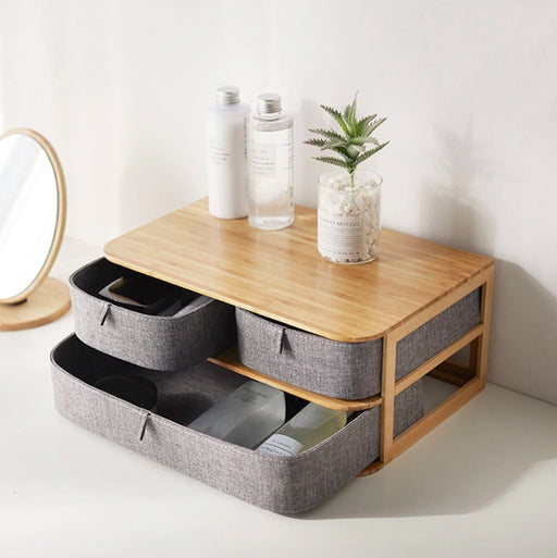 Multi-Layer Desktop Storage Drawers