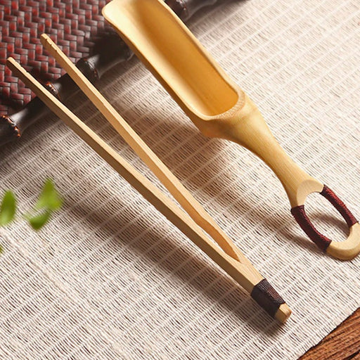 Natural Bamboo Tea Utensil Set
