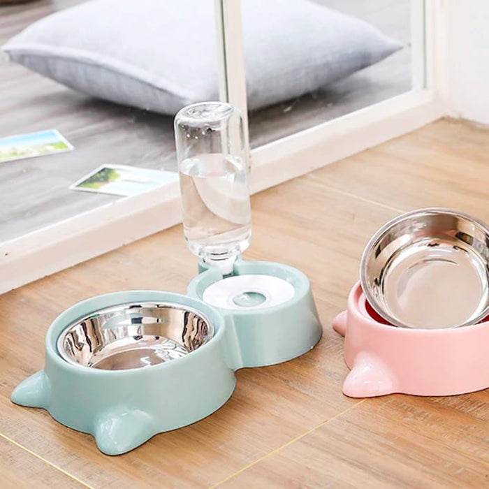 Pet 2-in-1 Water Fountain and Bowl