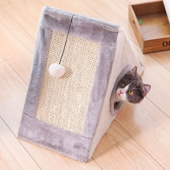 Playful & Enriching Cat Teepee Bed