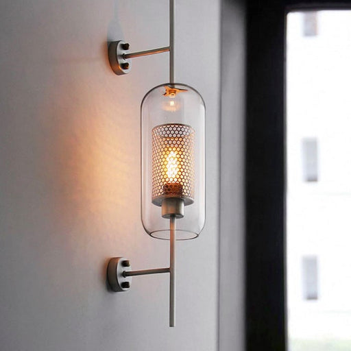 Retro-Themed Creative Wall Lamp