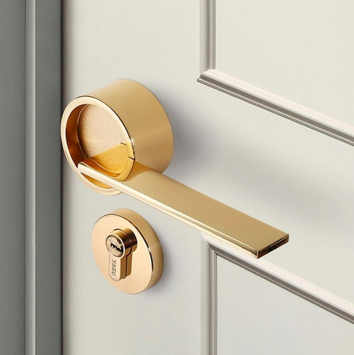 Split-Style Security Door Lock
