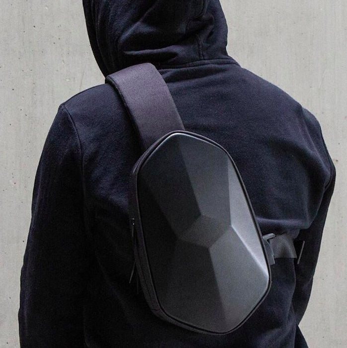 Unique Polyhedron Waterproof Backpack