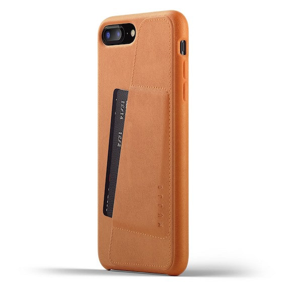 Mujjo Full Leather Wallet Case for iPhone 8 Plus